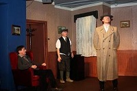 Production shot from Improbable Fiction